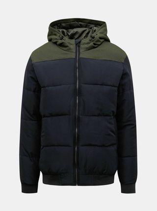 Tmavomodrá prešívaná bunda ONLY & SONS Boston