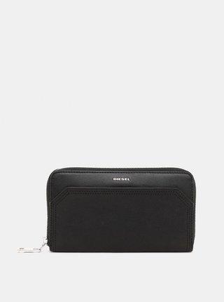 Čierna kožená peňaženka Diesel