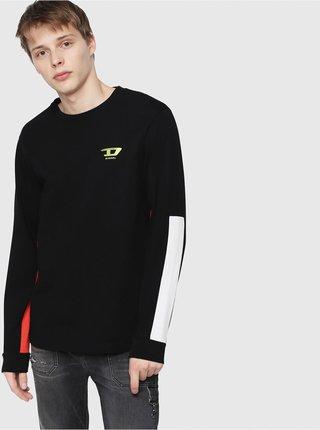 Černé pánské tričko Diesel