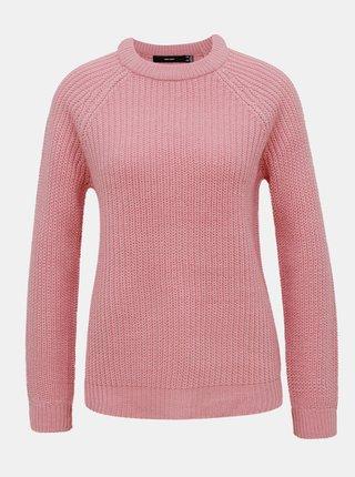 Růžový svetr VERO MODA Lea