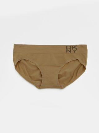 Béžové kalhotky DKNY