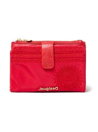 Desigual červená peněženka Mone Alkalina Pia Mini