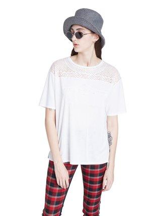 Desigual bílé tričko TS Nantes