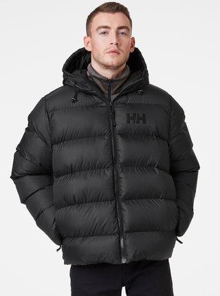 Čierna pánska zimná prešívaná bunda HELLY HANSEN