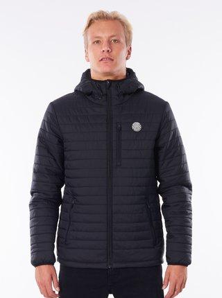 Čierna pánska zimná prešívaná bunda Rip Curl