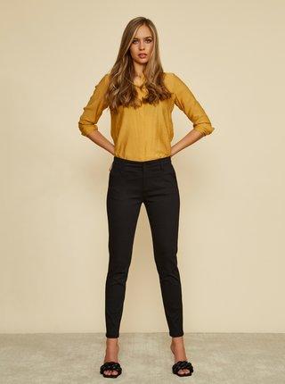 Čierne dámske slim fit nohavice ZOOT Baseline Heather