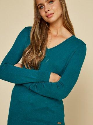 Modrý dámský basic svetr ZOOT Baseline Irma