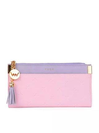 Vuch růžová peněženka Diamonds