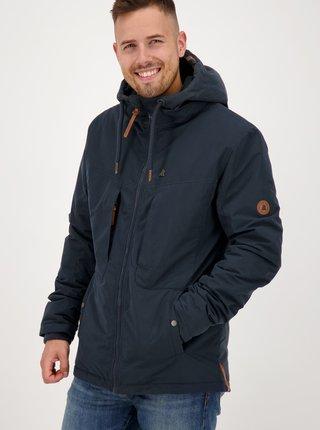 Tmavomodrá pánska zimná bunda Alife and Kickin