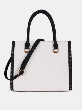 Bílo-černá kabelka LYDC