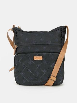Čierna dámska vzorovaná taška LOAP