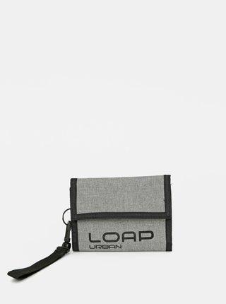 Šedá pánská peněženka LOAP