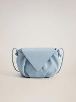 Modrá crossbody kabelka Mango Pili