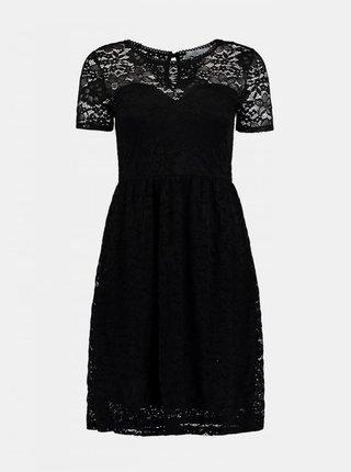 Černé krajkované šaty Haily´s
