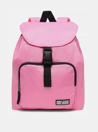 Růžový dámský batoh VANS
