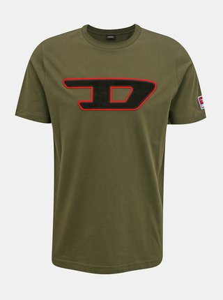 Tricouri pentru barbati Diesel - kaki