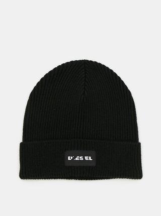 Černá vlněná čepice Diesel