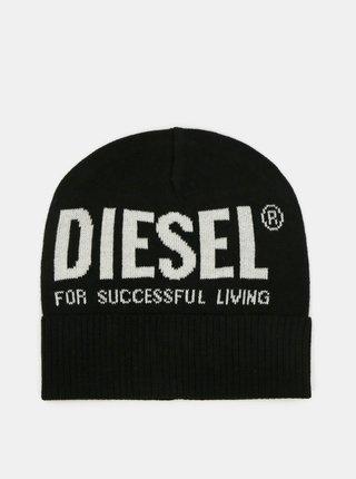 Černá pánská čepice Diesel