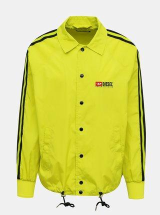 Žltá pánska bunda Diesel