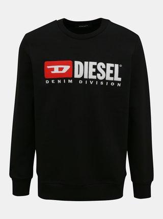Černá pánská mikina Diesel