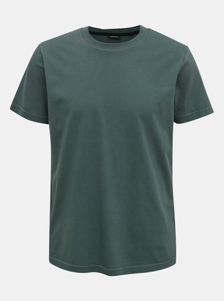 Tmavě zelené pánské tričko Diesel