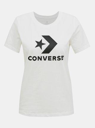 Bílé dámské tričko Converse