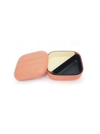 Ekobo Svačinový box s přihrádkami Coral 1 ks