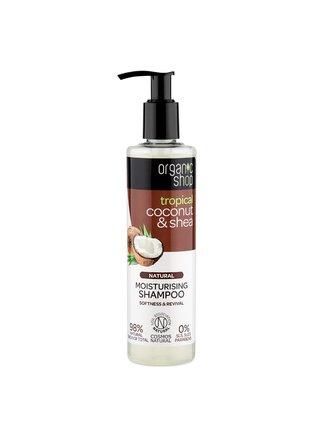 Organic Shop Hydratační šampón Kokos a bambucké máslo 280 ml