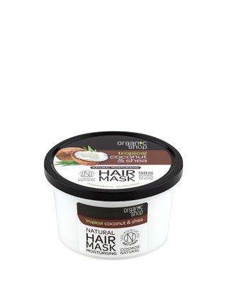 Organic Shop Hydratační maska na vlasy Kokos a Bambucké máslo 250 ml