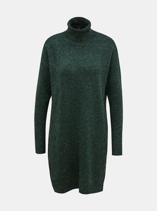 Zelené svetrové šaty VERO MODA Brilliant
