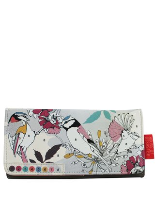 Disaster barevná peněženka Colour Me Bird