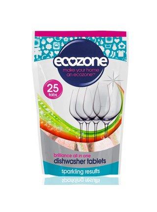 Ecozone Tablety do myčky Brilliance 25 ks