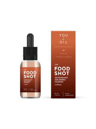 You & Oil Food shot Doplněk stravy Antioxidanty & Energie 30 ml