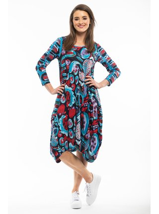 Orientique barevné šaty Bellini Navy