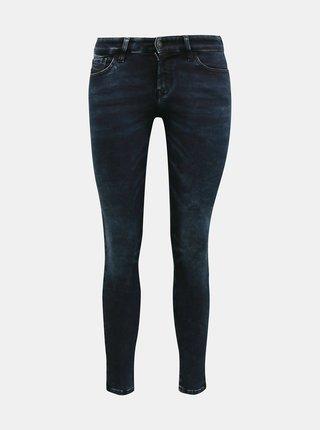 Tmavě modré dámské skinny fit džíny Diesel