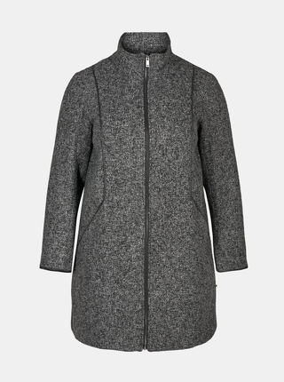 Šedý kabát Zizzi