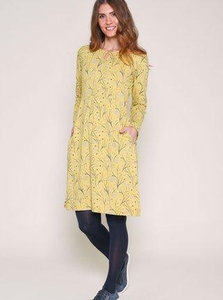 Marimi curvy pentru femei Brakeburn - galben