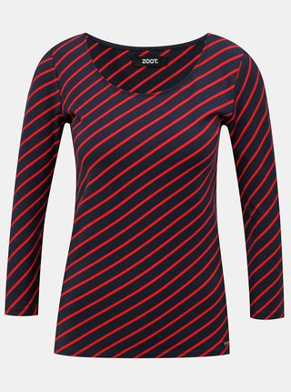 Tmavě modrá dámské pruhované tričko ZOOT Karin