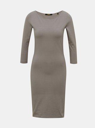 Šedé pouzdrové basic šaty ZOOT Baseline Polli