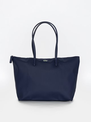Tmavě modrá dámská kabelka Lacoste