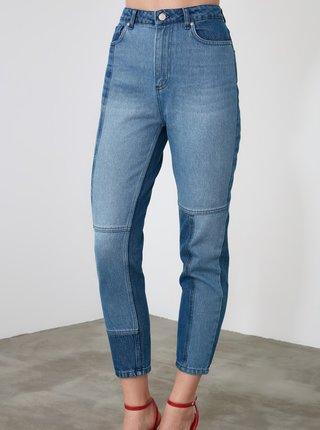 Modré skinny fit džíny Trendyol