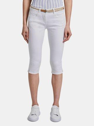 Bílé dámské 3/4 kalhoty Tom Tailor