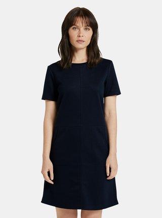 Tmavomodré dámske šaty Tom Tailor