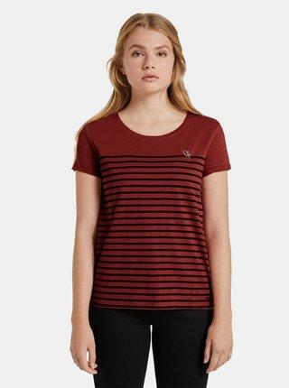 Tricouri pentru femei Tom Tailor Denim - maro