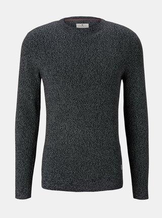Čierny pánsky sveter Tom Tailor
