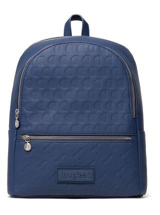 Desigual elegantní modrý batoh Back Alma Novara