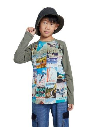 Desigual barevné chlapecké tričko TS Tomas