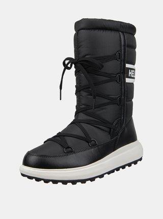 Černé dámské zimní voděodolné boty HELLY HANSEN