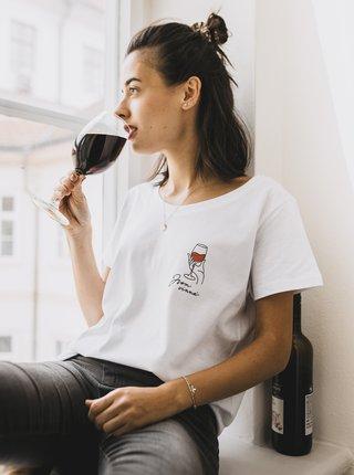 Bílé dámské tričko ZOOT Original Jsem vinná