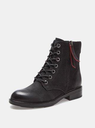 Černé dámské kotníkové boty Wrangler